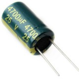 خازن الکترولیتی 4700uf/25v