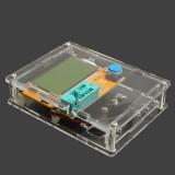 تستر قطعات الکترونیکی همراه با کیس شیشه ای LCR-T4