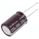 خازن الکترولیتی NICHICON 220uf/100v