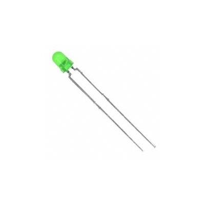 ال ای دی 3 میلیمتر سبز خود رنگ